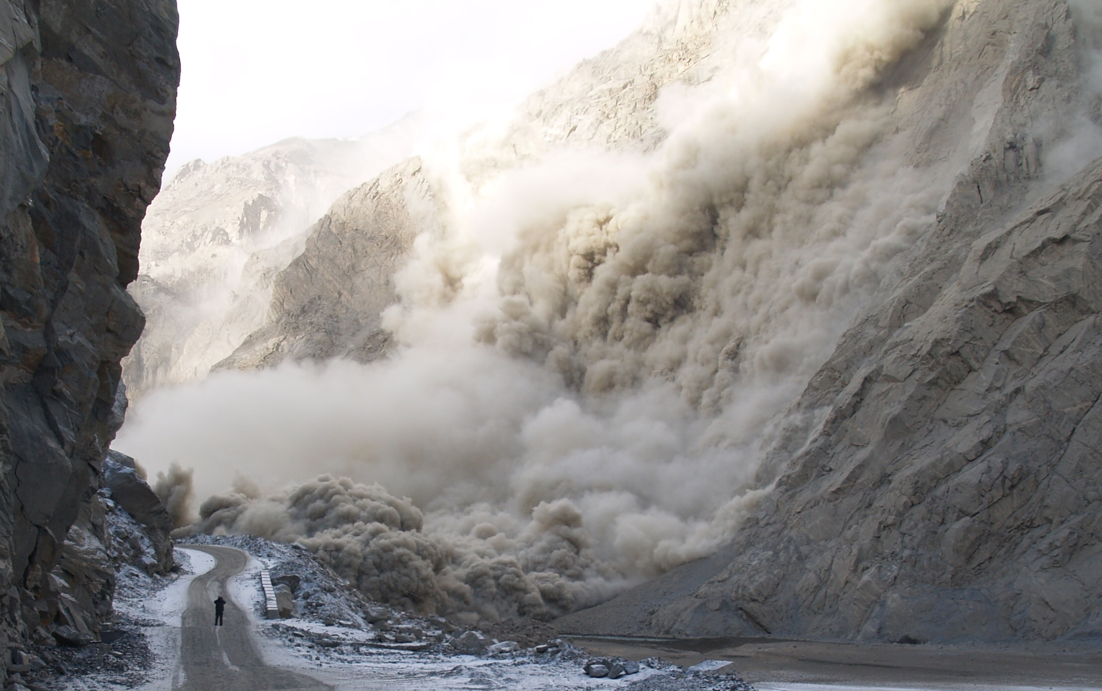 Continuing concerns about the landslide dam at attabad in hunza