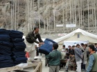 FOCUS Pakistan continues providing relief to the internally displaced people of Attabad and Sarat. Jackets, shawls, blankets, water coolers and electric lamps were distributed yesterday among the people housed in three camps at Altit, Hunza.