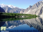 This lake was formed as a result of the damming of Hunza River. It has displaced around 27,000 people in upstream and downstream valleys