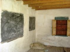 A deserted class room