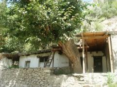 An empty house at Sarat village