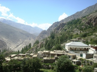 Central part of Attabad Bala is intact for the time being