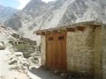 A shop that remained safe in Attabad Payeen, the village where 19 people died as a result of January 4 landslide