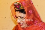 Federal Information and Culture Minister, Firdous Ashiq Awan in GB hat